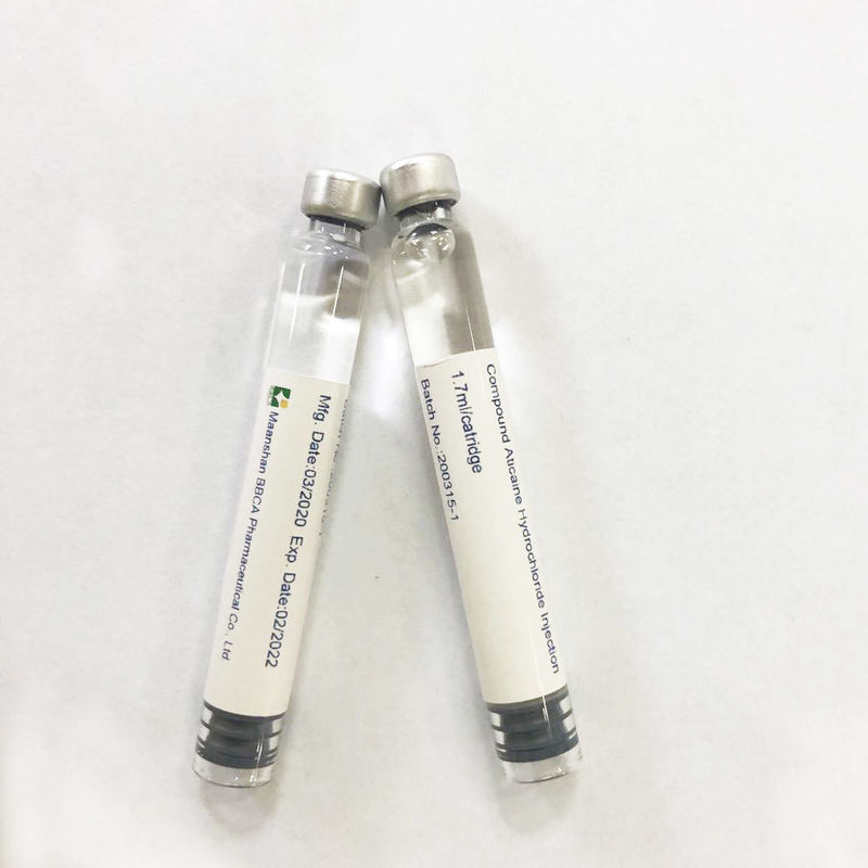 Colorless Small Volume Injection Compound Articaine Hydrochloride Injection 68mg